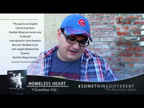 K-LOVE - Homeless Heart: Something Different Devotional Series with Sidewalk Prophets