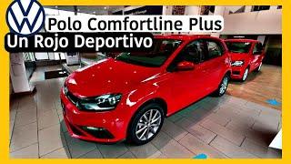 Polo Comfortline Plus STD 2020 - Rojo Flash- [KioKio]