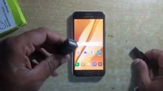 Samsung Galaxy J2 OTG Test with -USB HOST Pendrive  Test