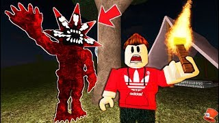 I Met a MONSTER while Camping in Roblox!