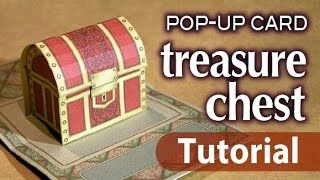 Tutorial_pop-up card _treasure chest_ (FREE template)