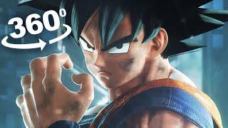 DBZ Team Goku vs Team Naruto in VR 360 degree