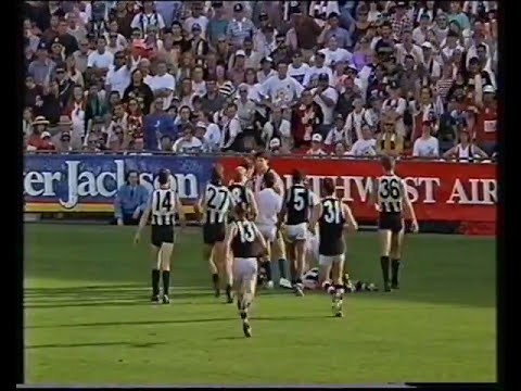 St Kilda vs Collingwood    Rd 4  1993
