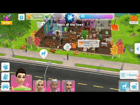 The Sims Mobile Fall Home Tour