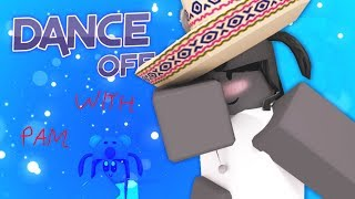 ROBLOX Gaming: Dance Off | this is a short,dry,laggy gameplay lol