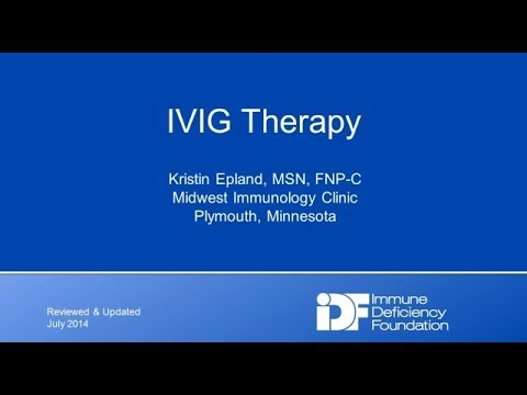 IVIG Therapy