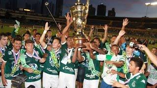 Goiás campeão de 2015 contra a Aparecidense, apesar de empate.