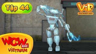 Cậu Bé Robot Tập 44 - Rô Bốt Điện Biến Hình - Phim Hoạt Hình Tiếng Việt - Vir : The Robot Boy