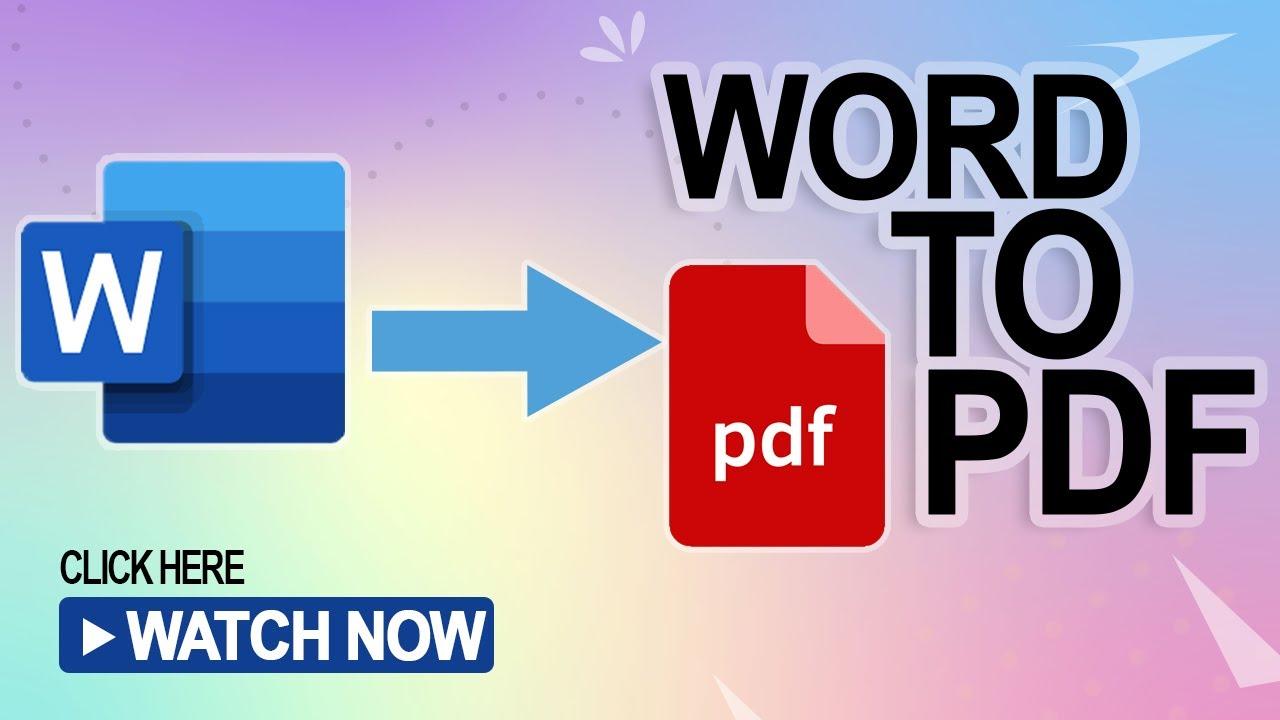 How to convert word file to PDF in Microsoft word 2016 || Bangla Tutorial  || VisboTutor ||