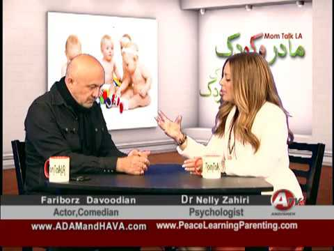 MomTalk with Dr. Nelly Farnoody-Zahiri & Actor Comedian Fariborz David Davoodian