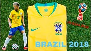 Jual Jersey-Baju Bola Timnas Brasil-Brassil Home Piala Dunia-World Cup 2018 Russia Rusia & Nameset-NNS-Nama-Nomor Punggung
