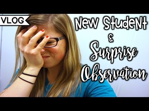 New Student & Surprise Observation | That Teacher Life Ep 20