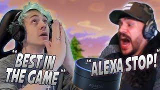 Ninja Makes The Most Insane Play With The Crossbow! Alexa Almost Leaks CDN's Personal Info! thumbnail