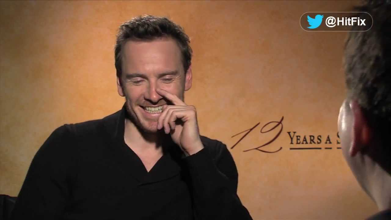 Michael Fassbender talks playing slave owner for 12 Years A Slave
