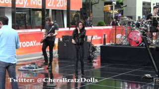 "Cher Lloyd ""Just Be Mine"" Today Show Sound Check 5/27/14"