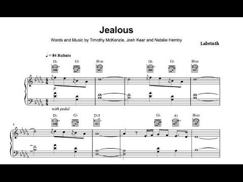 Jealous Labrinth Sheet Music