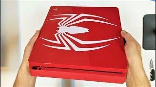 فتح صندوق بلايستيشن 4 سبايدرمان | PS4 Slim (SPIDER-MAN) UNBOXING