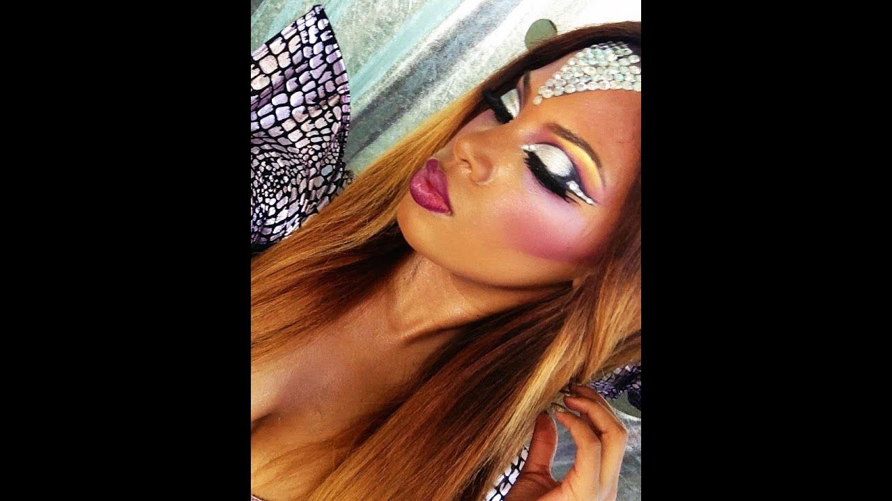 Youtube Makeup Tutorials Popular: Futuristic Makeup NYX Face Awards Round 3