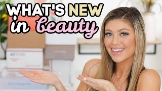HUGE PR UNBOXING HAUL | WHAT'S NEW IN BEAUTY! @Madison Miller