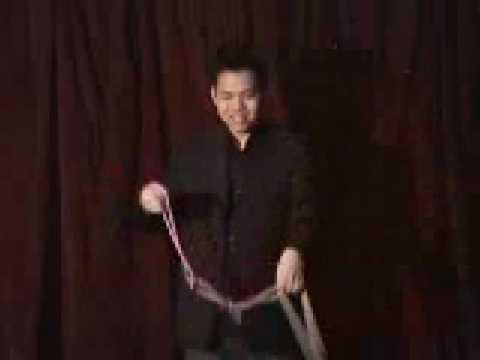 Jeremy Pei Magic Professional Linking Ropes Routine 2008 ...