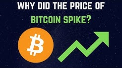 Why Did the Price Of Bitcoin Spike?