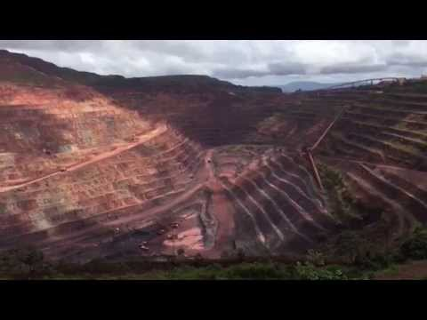 Vast Iron Mine Carved Out Of Brazil's Forest