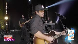 Easton Corbin Performs Didn't Miss a Beat Live-Today Show-Gregg Lohman-Beier 1.5 Steel--4 x 15