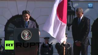 USA: Obama welcomes Japan