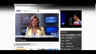 Comment regarder TVA TV en direct sur internet ?