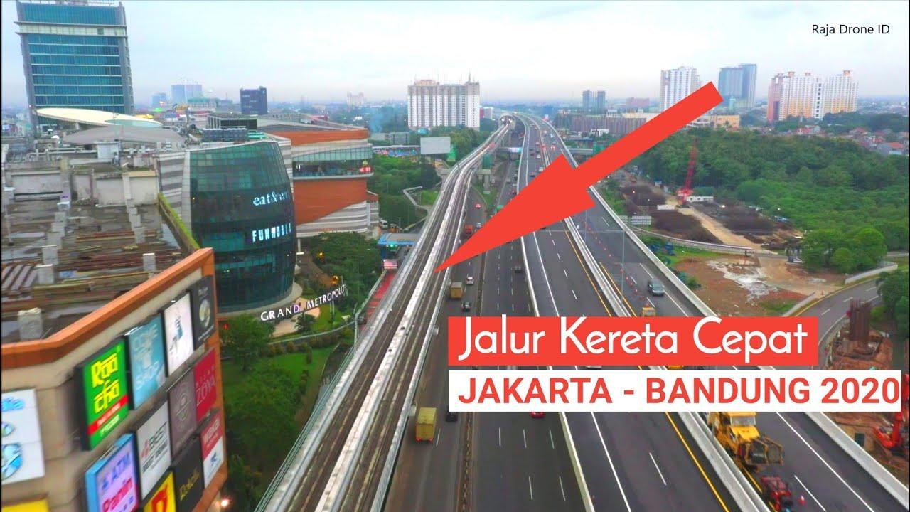 Jalur Kereta Cepat Jakarta - Bandung 2020 di Kota Bekasi ...