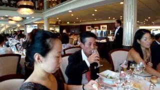 飛鳥Ⅱ//2009.07.26//夕食ディナー