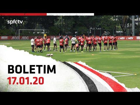 BOLETIM DE TREINO: 17.01 | SPFCTV