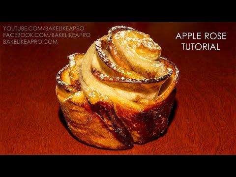 Apple Rose Recipe Tutorial