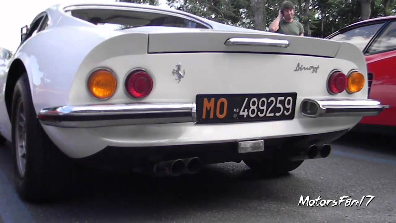 画像: RARE Dino 246gt - Revs, Sound & more! www.youtube.com