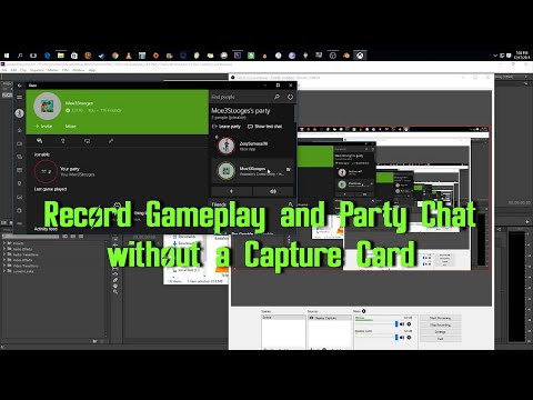 Record Gameplay And Party Chat With Windows 10 No Capture Card Needed