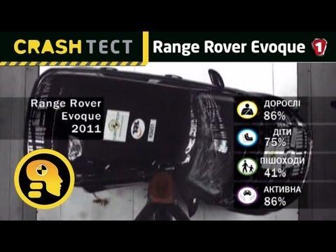 Range Rover Evoque. Краш-тест. (УКР)
