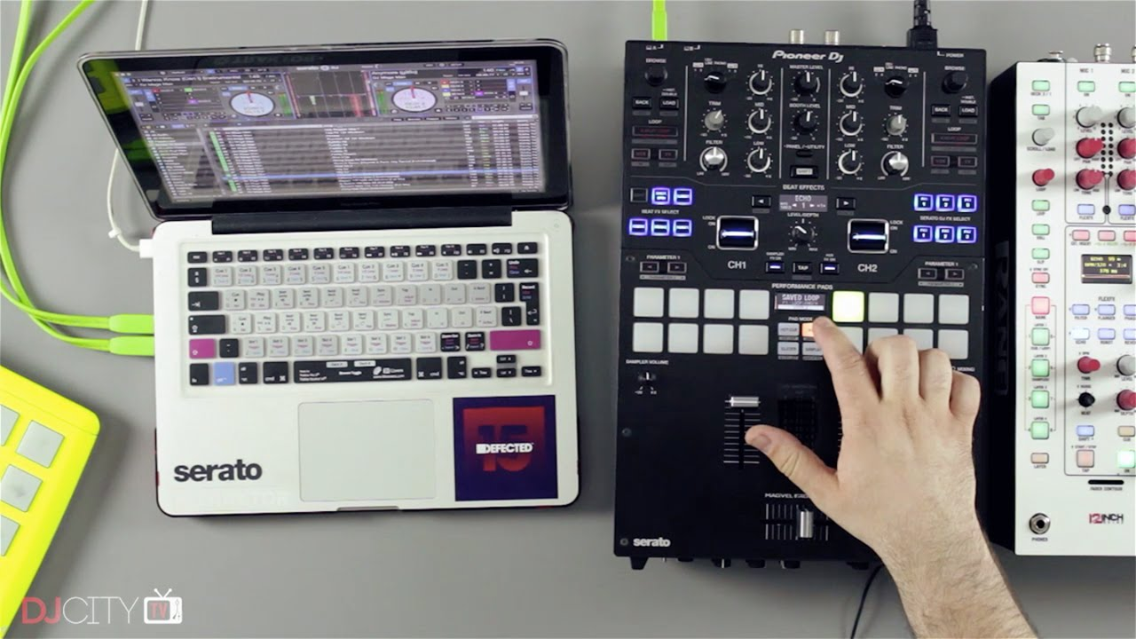 how to set cue points serato