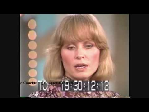 "Joan Crawford's Daughter Christina On ""The Mike Douglas Show"" 1978"