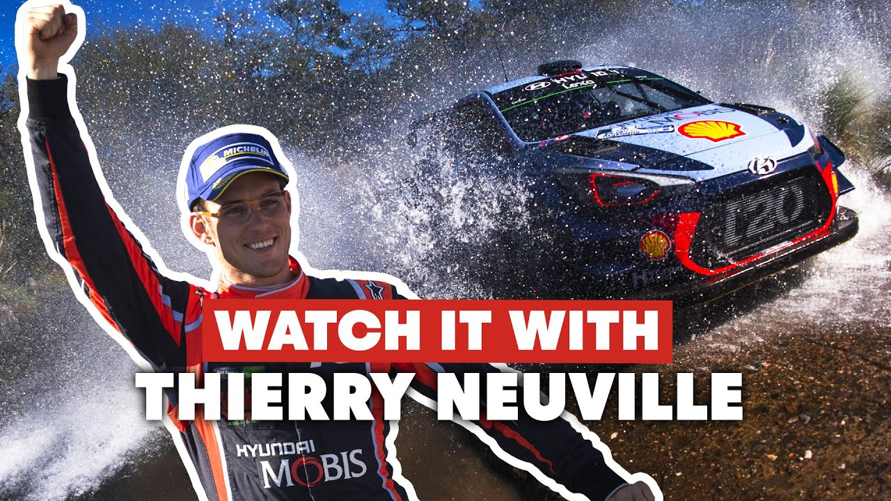 Watch It With Thierry Neuville | 2017 FIA WRC Rally Argentina