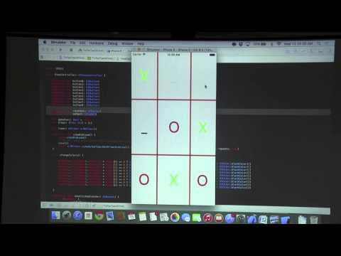 iOS Apps, Games & Algorithms: Teasing Tic Tac Toe in Swift (