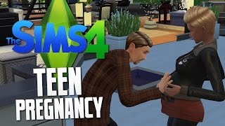 The Sims 4 - TEEN PREGNANCY - The Sims 4 Funny Moments #22
