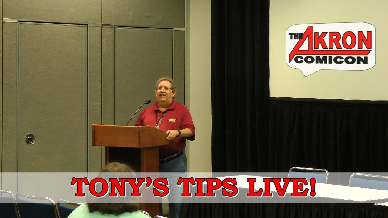 Tony's Tips Live – Akron Comicon 2016