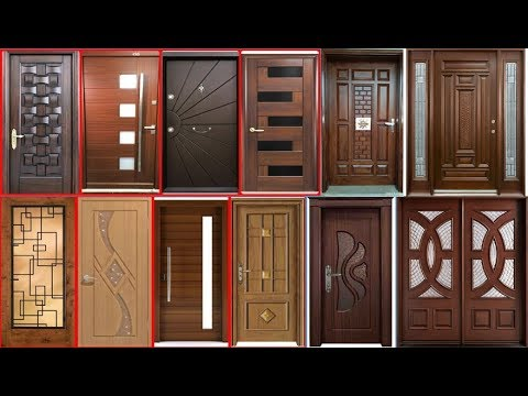 modern woodwork door designs ideas 2019, latest wood and glass doormodern woodwork door designs ideas 2019, latest wood and glass door design collection