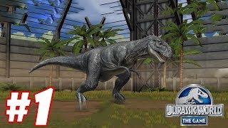 Trò chơi khủng long đánh nhau công viên - Jurassic World The Game #1