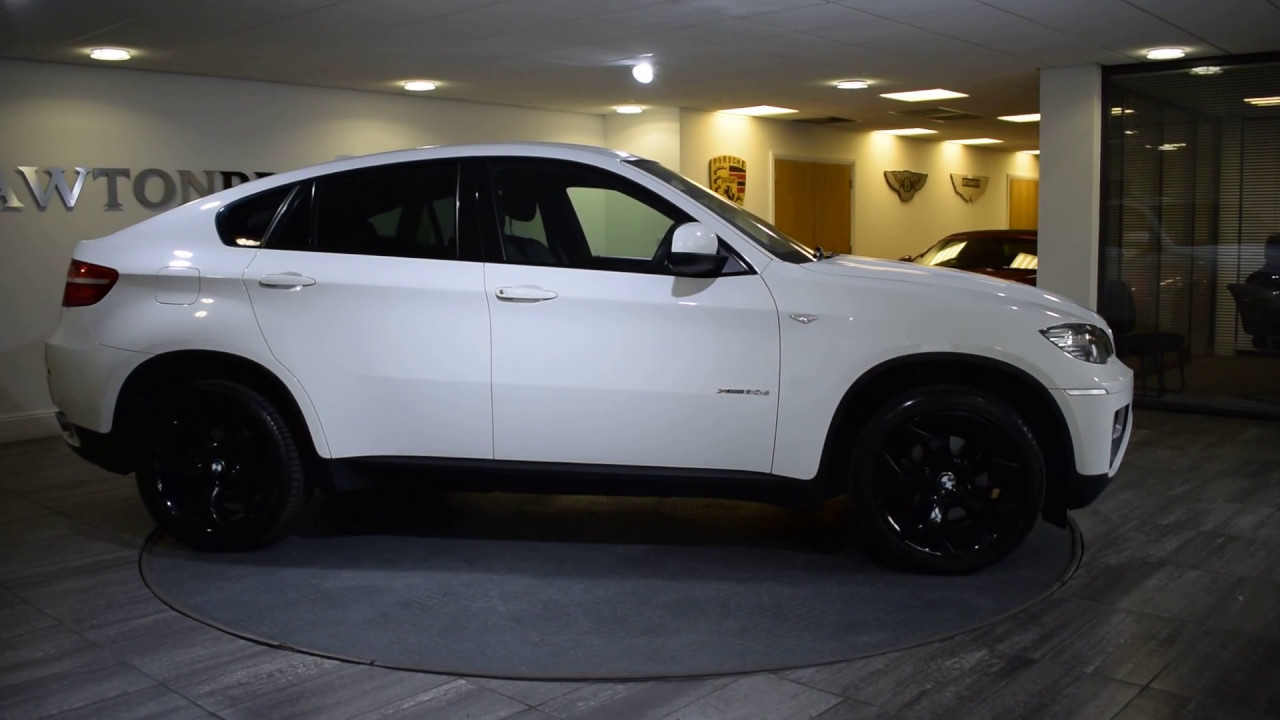 Bmw X6 30d White With Black Lawton Brook