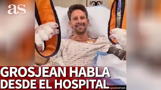 Fórmula 1 | Las palabras de Grosjean en el hospital tras su terrible accidente | Diario As