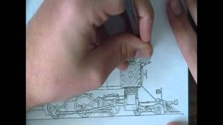 4-6-0 Peter #21 Speed Drawing