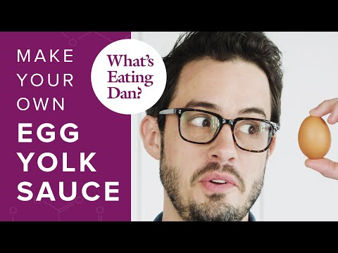 The Science of Egg Yolks and How to Make Them Taste Like Parmesan Cheese   What's Eating Dan?