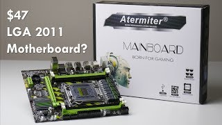 The cheapest LGA 2011 Motherboard on AliExpress? Atermiter X79 X79G