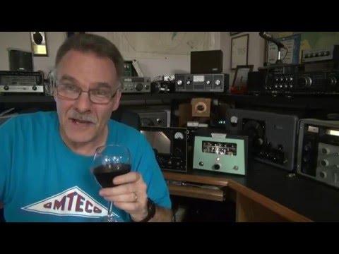 CW Transmitter 6v6 AM Tube modulator Kit demo by D-lab